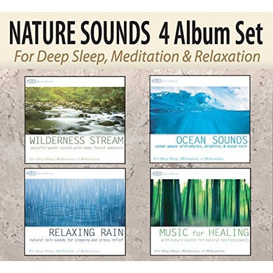 Robbins Island Music Group NATURE SOUNDS: WILDERNESS STREAM OCEAN SOUNDS CD