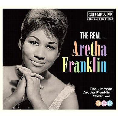 Aretha Franklin   REAL ARETHA CD
