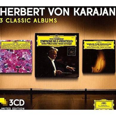 Herbert Von Karajan  THREE CLASSIC ALBUMS (TCHAIKOVSKY) CD