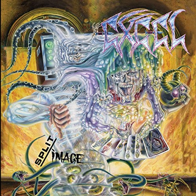 EXCEL SPLIT IMAGE Vinyl Record