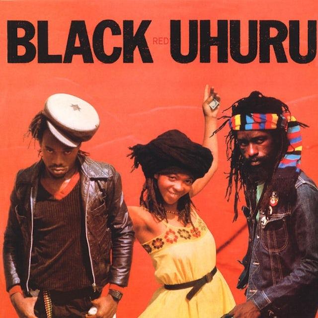 Black Uhuru RED Vinyl Record