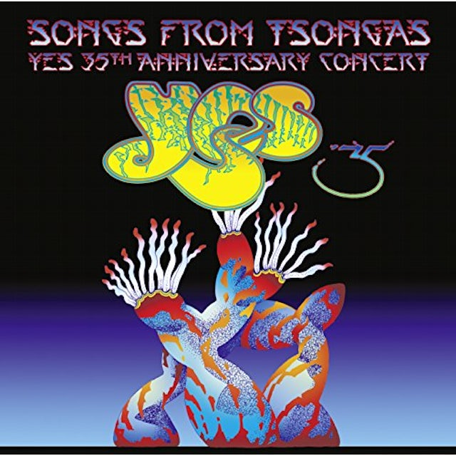 Yes SONGS FROM TSONGAS 35TH ANNIVERSARY CONCERT CD