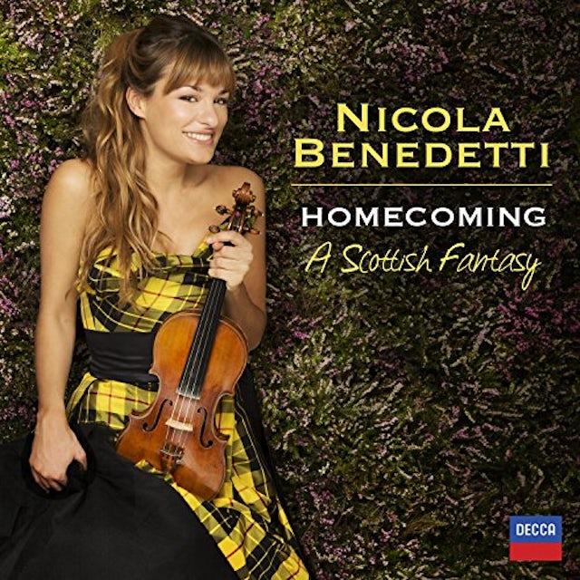 Nicola Benedetti HOMECOMING-A SCOTISH FANTASY CD