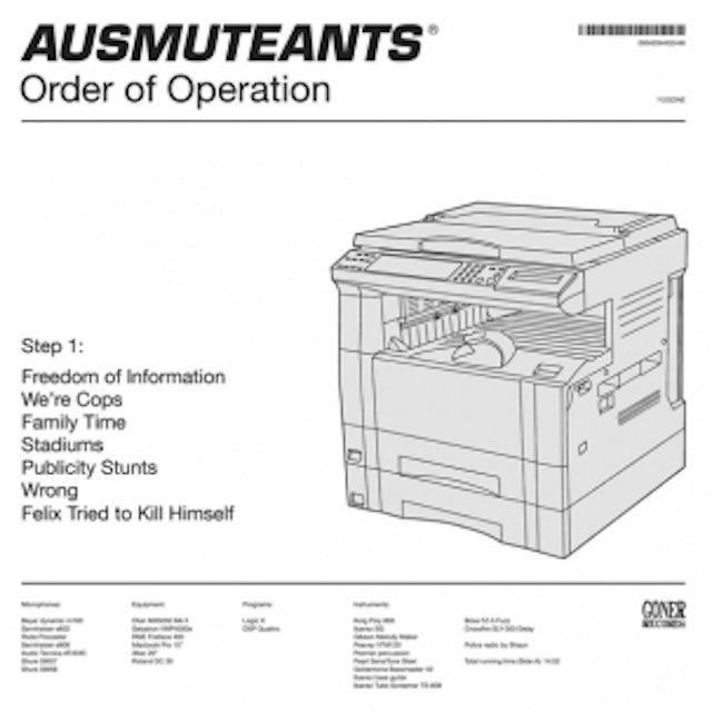 Ausmuteants ORDER OF OPERATION CD