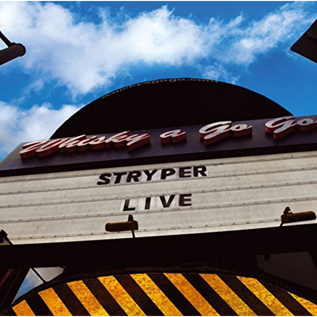 Stryper LIVE AT THE WHISKY CD