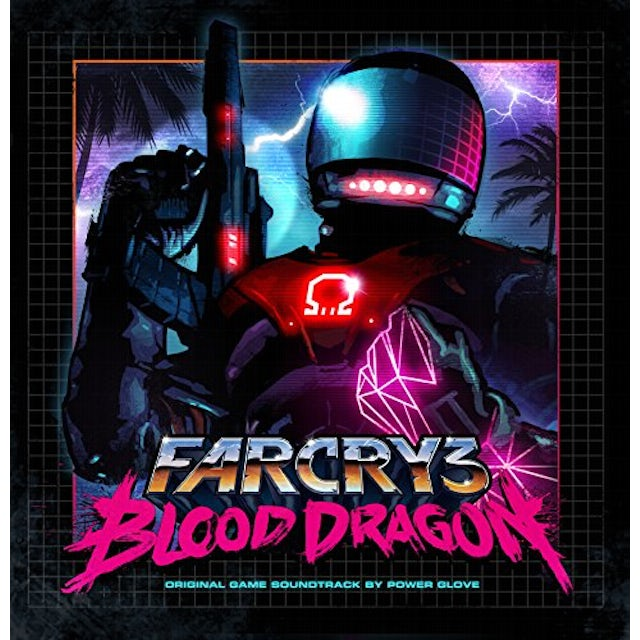POWER GLOVE  FAR CRY 3: BLOOD DRAGON O.S.T. Vinyl Record - Digital Download Included