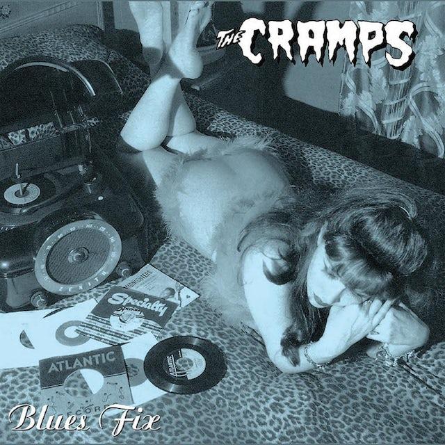 The Cramps BLUE FIX Vinyl Record