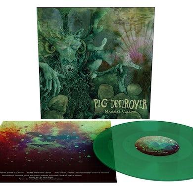 Pig Destroyer MASS & VOLUME Vinyl Record
