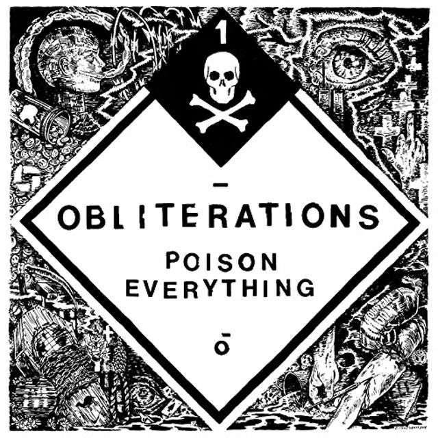 Obliterations POISON EVERYTHING Vinyl Record