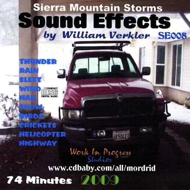 William Verkler SIERRA MOUNTAIN STORMS SE008 CD