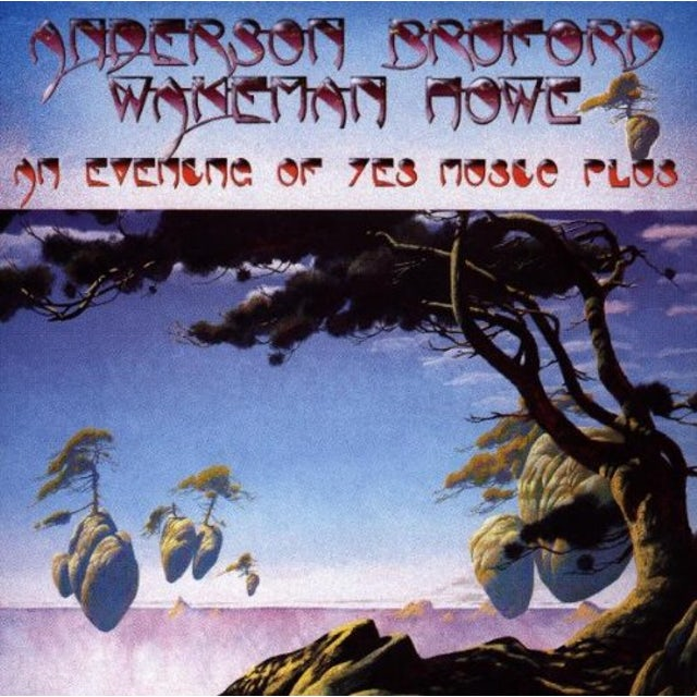 Anderson Bruford Wakeman & Howe AN EVENING OF YES MUSIC 2 Vinyl Record