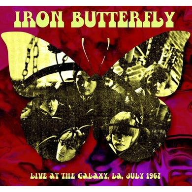 Iron Butterfly LIVE AT THE GALAXY LA JULY 1967 Vinyl Record