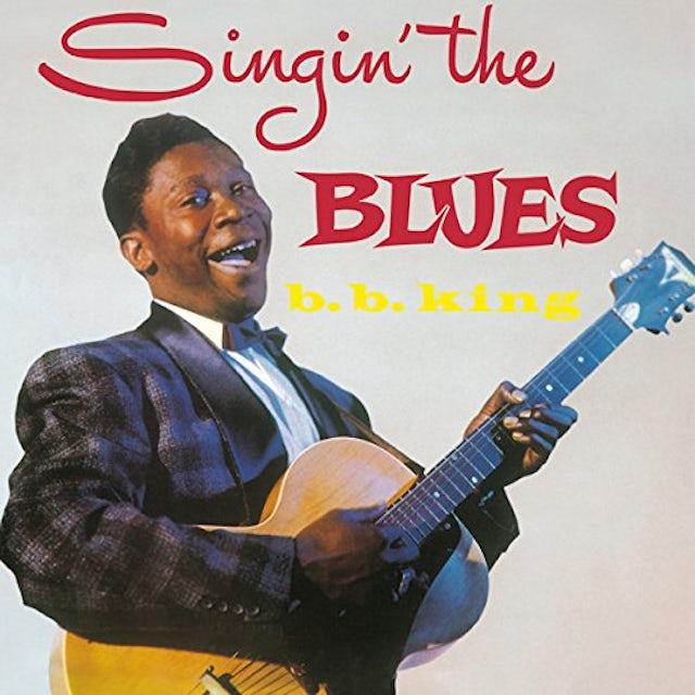 B.B. King SINGIN THE BLUES Vinyl Record