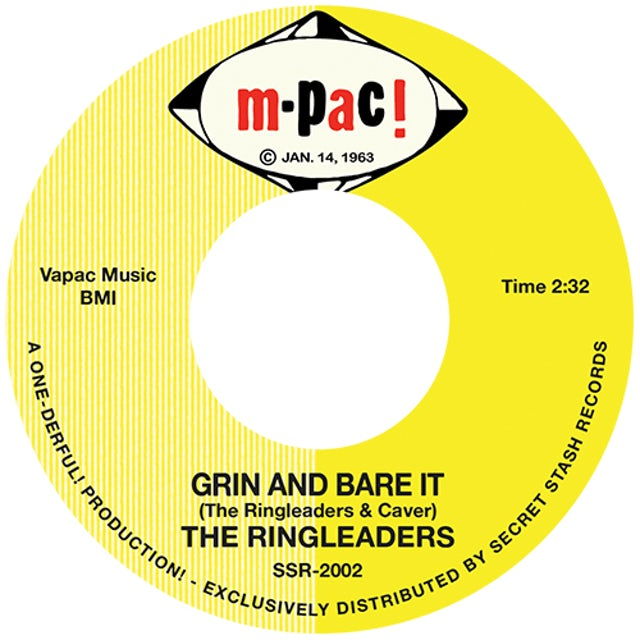 Ringleaders GRIN & BARE IT / I'VE GOT TO FIND MY BABY Vinyl Record