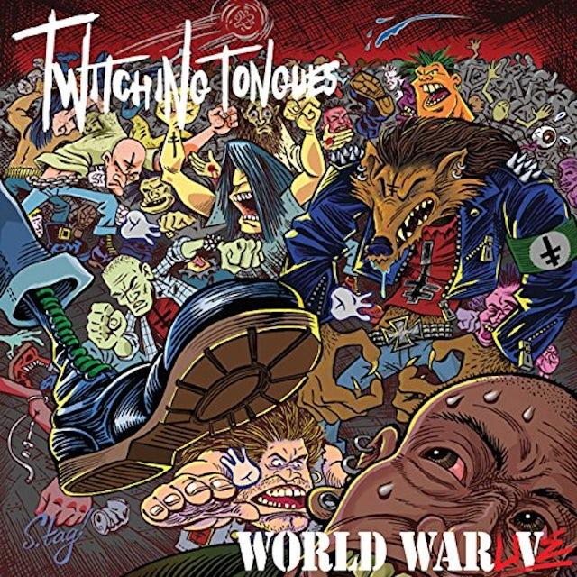 Twitching Tongues WORLD WAR LIVE (UK) (Vinyl)