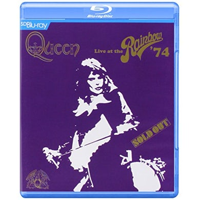 Queen LIVE AT THE RAINBOW '74 Blu-ray