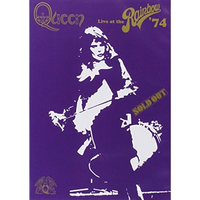 Queen LIVE AT THE RAINBOW '74 DVD