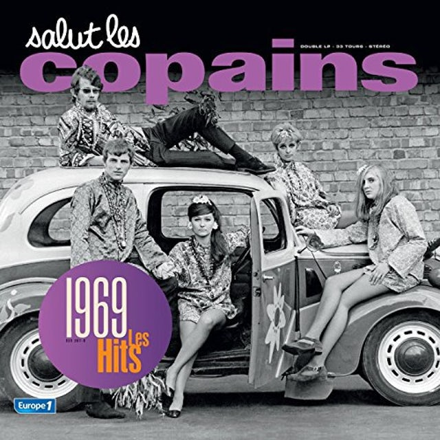 SALUT LES COPAINS 1969 Vinyl Record