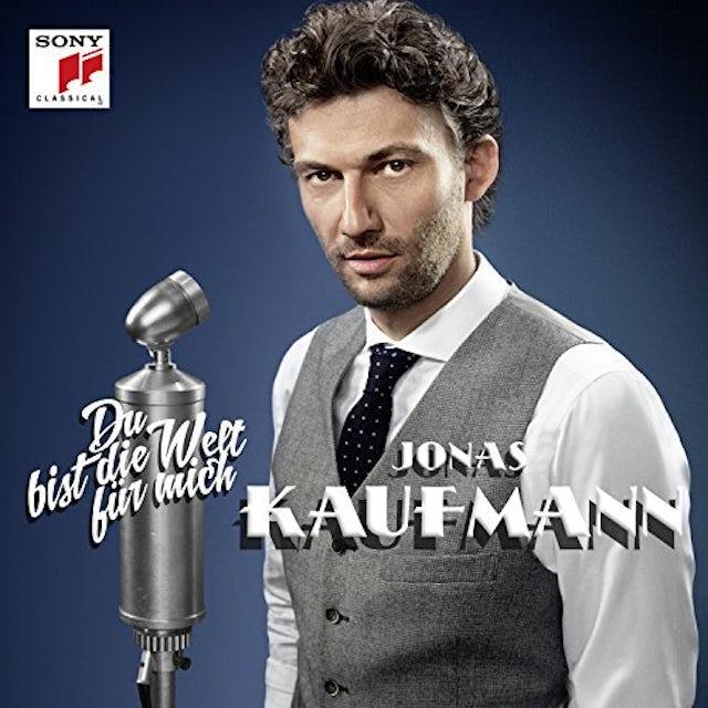 Jonas Kaufmann DU BIST DIE WELT FUR MICH Vinyl Record