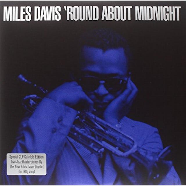Miles Davis ROUND ABOUT MIDNIGHT Vinyl Record - UK Release