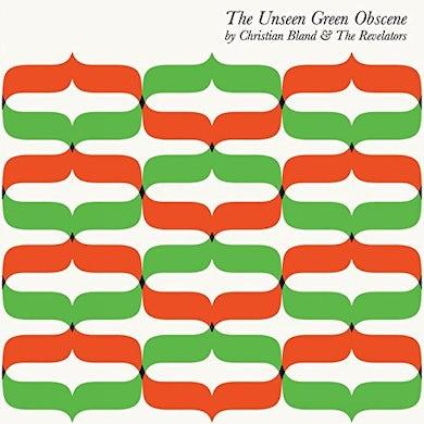 Christian Bland & Revelators UNSEEN GREEN OBSCENE Vinyl Record