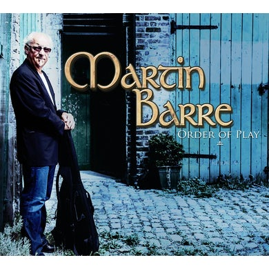 Martin Barre ORDER OF PLAY CD