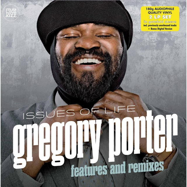 Gregory Porter ISSUES OF LIFE (FEATURES & REMIXES) (GER) Vinyl Record