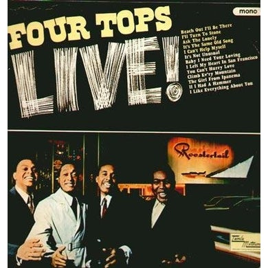 FOUR TOPS LIVE CD