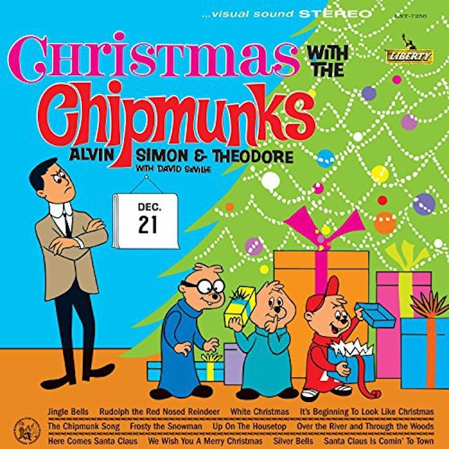 CHRISTMAS WITH THE CHIPMUNKS Vinyl Record