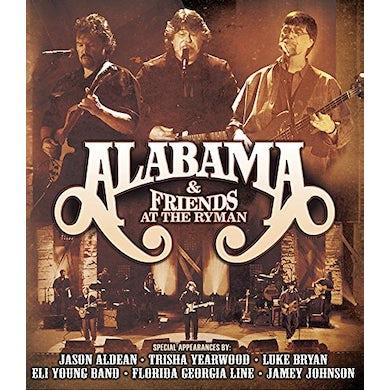 ALABAMA & FRIENDS AT THE RYMAN CD