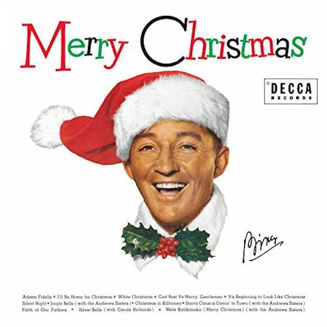 Bing Crosby MERRY CHRISTMAS Vinyl Record