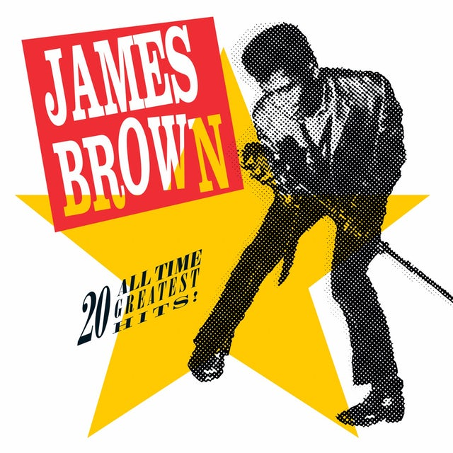 James Brown 20 ALL-TIME GREATEST HITS Vinyl Record