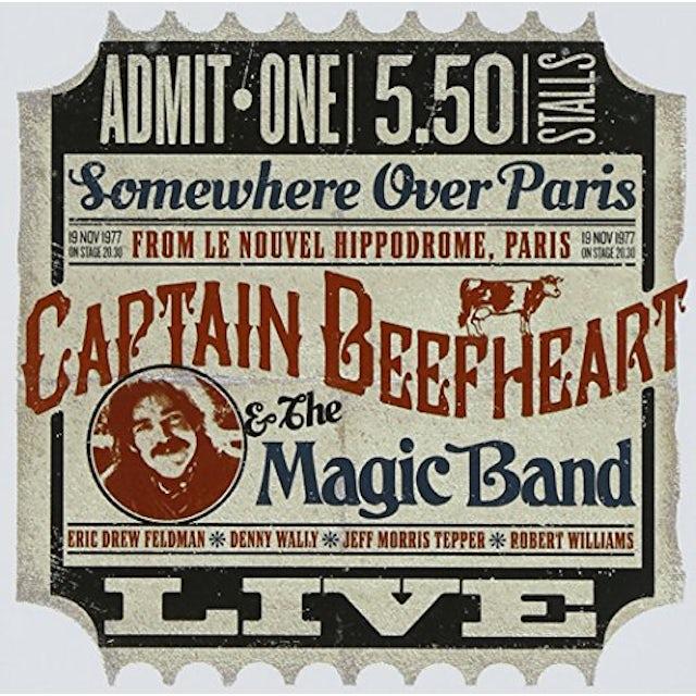 Captain Beefheart & His Magic Band LE NOUVEL HIPPODROME PARIS 1977 CD