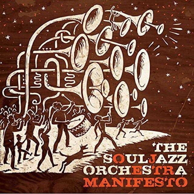 The Souljazz Orchestra MANIFESTO Vinyl Record