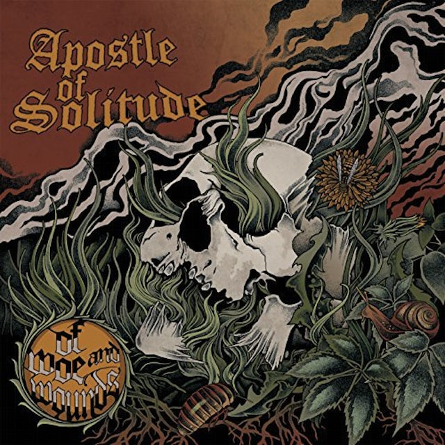 APOSTLE OF SOLITUDE OF WOE & WOUNDS Vinyl Record