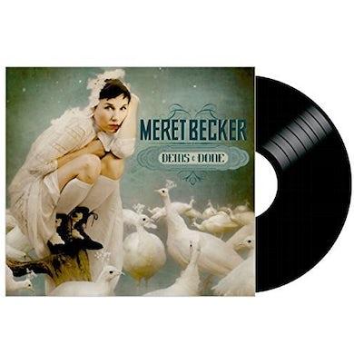 Meret Becker DEINS & DONE Vinyl Record