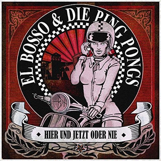 EL BOSSO / DIE PING HIER UND JETZT ODER Vinyl Record