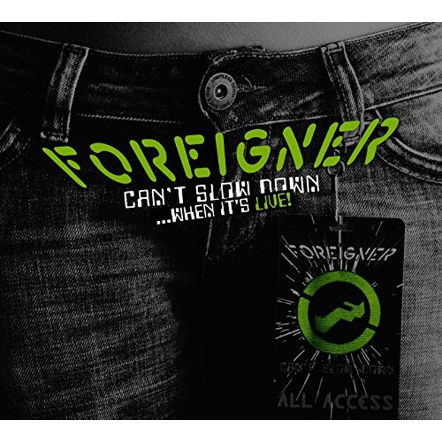 Foreigner CAN'T SLOW DOWN Vinyl Record
