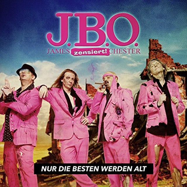 J.B.O. NUR DIE BESTEN WERDEN (GER) Vinyl Record
