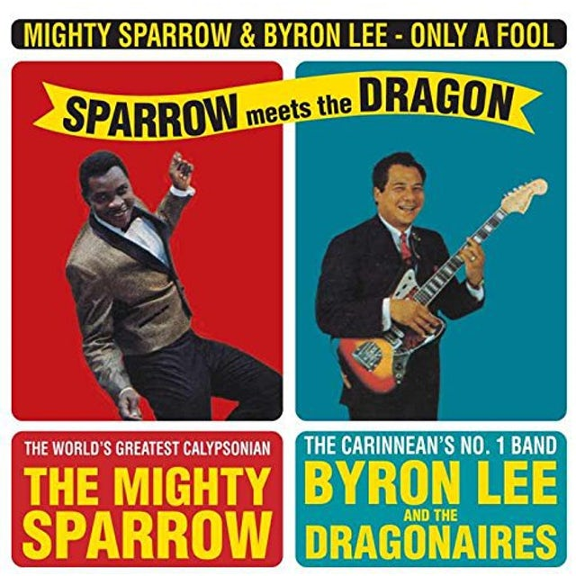 Mighty Sparrow ONLY A FOOL-SPARROW ME Vinyl Record