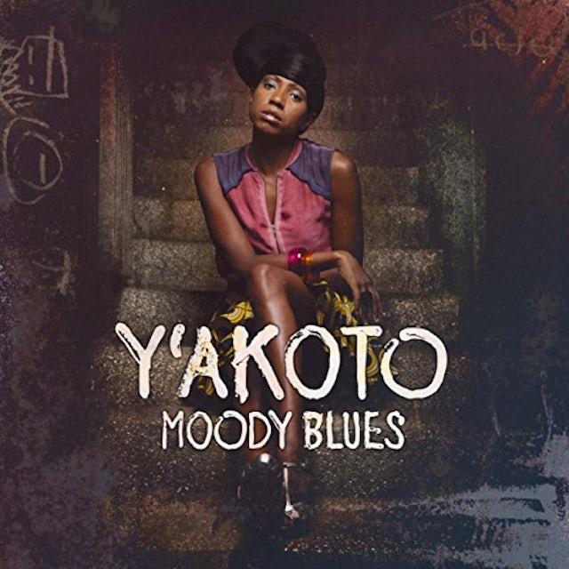 Y'Akoto MOODY BLUES Vinyl Record
