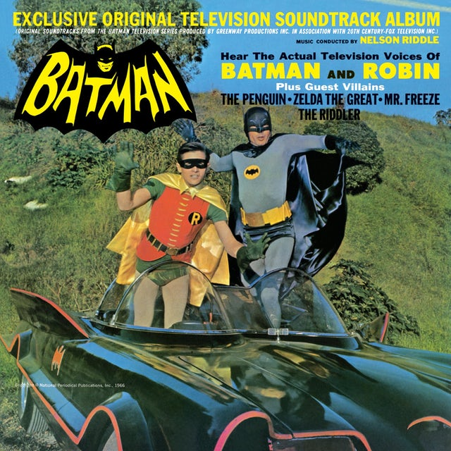 Nelson Riddle BATMAN - TV Original Soundtrack Vinyl Record