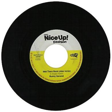 Bunny General MEK THEM ROCK (JSTAR REMIX) Vinyl Record
