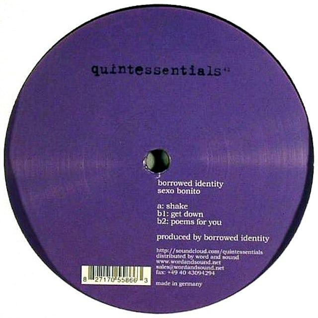 Borrowed Identity SEXO BONITO Vinyl Record