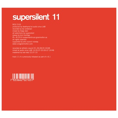 Supersilent 11 CD
