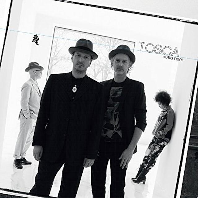 Tosca OUTTA HERE Vinyl Record - w/CD, Gatefold Sleeve