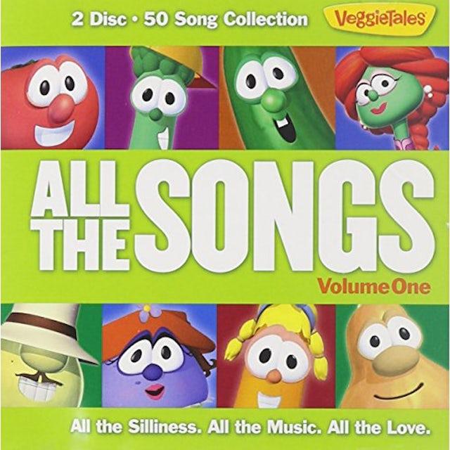 VeggieTales ALL THE SONGS 1 CD