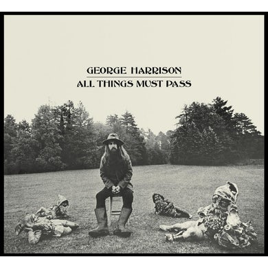 George Harrison ALL THINGS MUST PASS CD