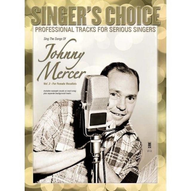Karaoke MORE SONGS OF JOHNNY MERCER CD