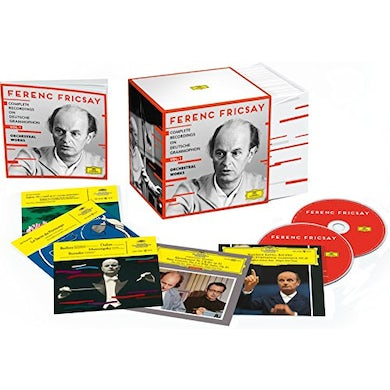 Ferenc Fricsay COMPLETE RECORDINGS ON DEUTSCHE GRAMMOPHON 1 CD
